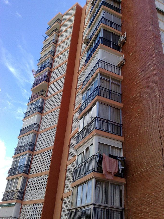 Rehabilitación de Fachadas Edificio Club Medico III - Benidorm
