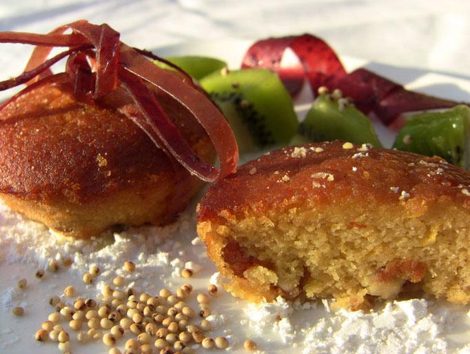 muffins au millet-miel