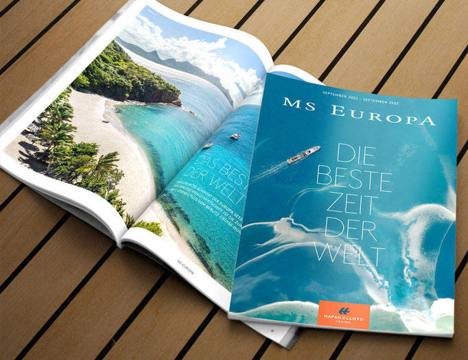 MS EUROPA 2 Katalog 2022