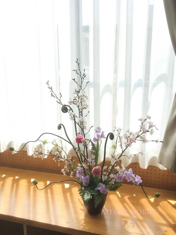 フレッシュフラワークラス 桜の放射線  Sakura