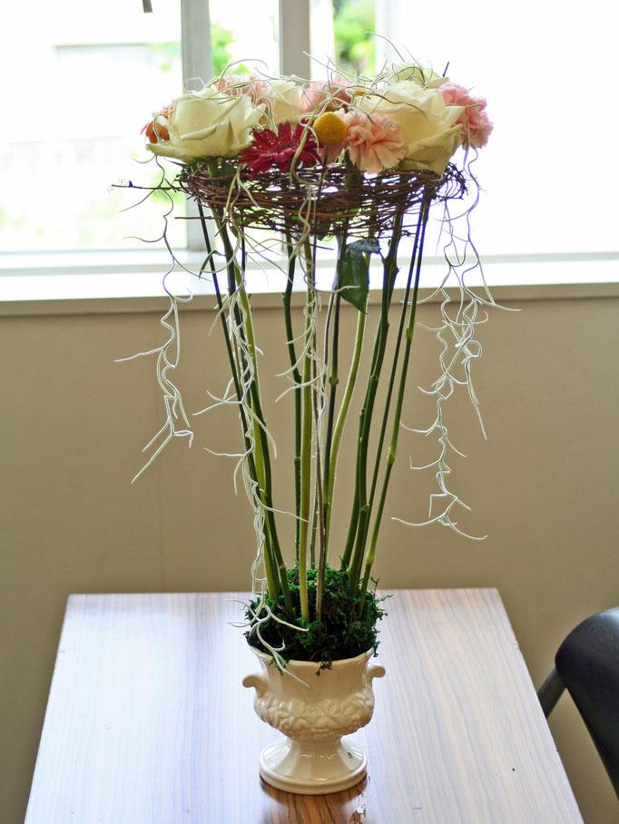 フレッシュフラワークラス ヨーロピアンデザイン 花のベルト