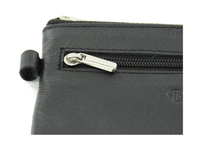 Lederlasche Aussen für Schlüsselring, Karabiner, etc.