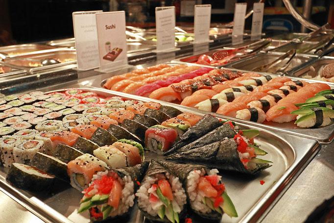 Sushi in vielen Variationen