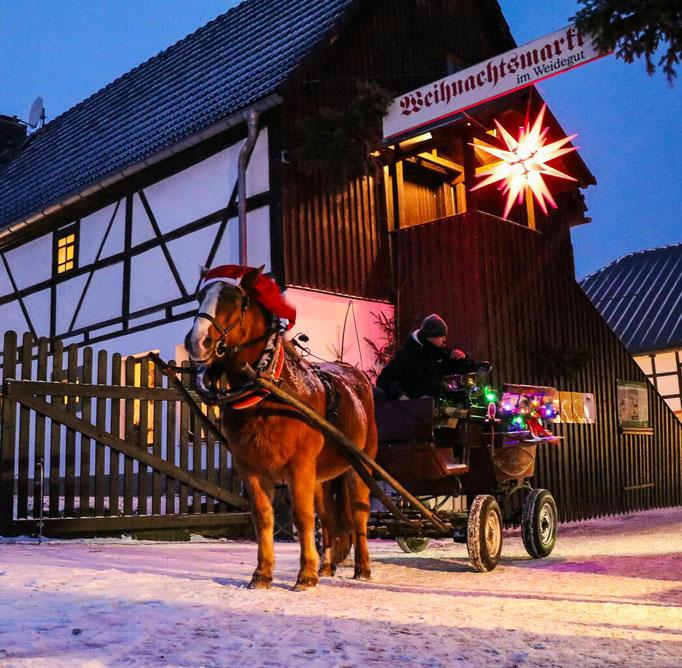 Weihnachtsmarkt auf dem Weidegut Colmnitz