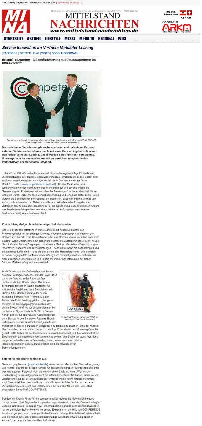 Competence Presse Mittelstand Nachrichten