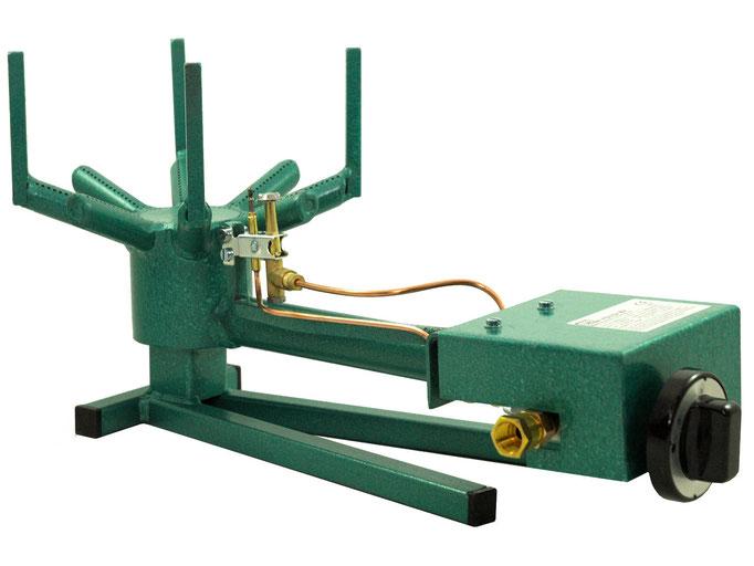 Gasbrenner 700B mit Erdgas oder Propangas für die Verwendung im Entenofen