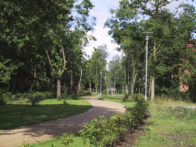 """Straßenunabhängiges Fuß-/Radwegenetz """"Grüne Linie"""""""