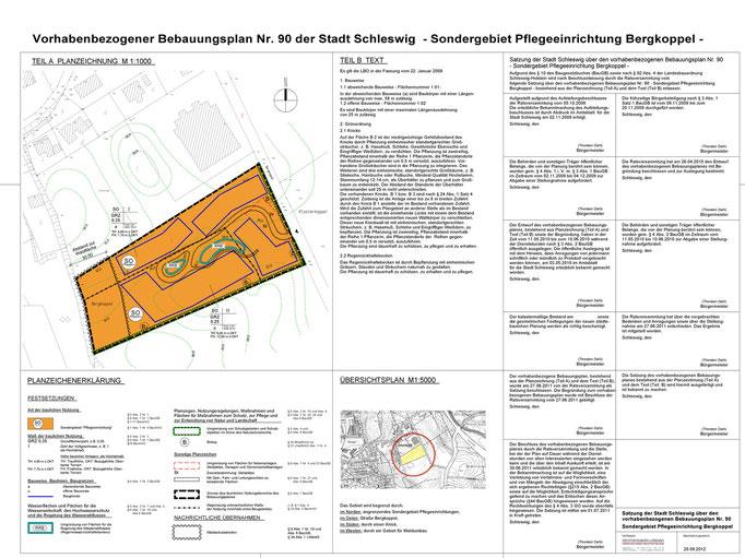 Vorhabenbezogener Bebauungsplan Nr. 90 der Stadt Schleswig