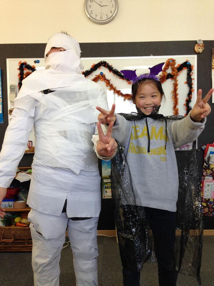 2014年のハロウィーン:mummy!!