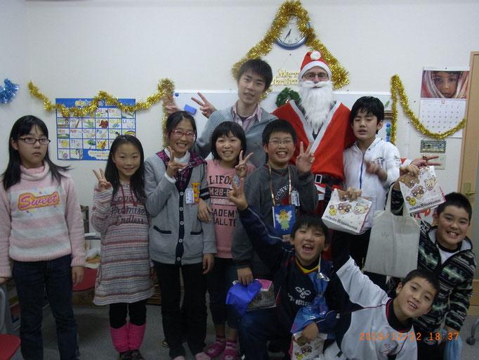 サクセスインターナショナルキッズクリスマス会