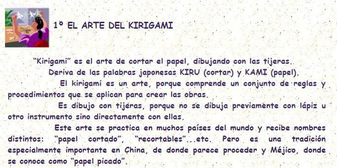 El arte del kirigami