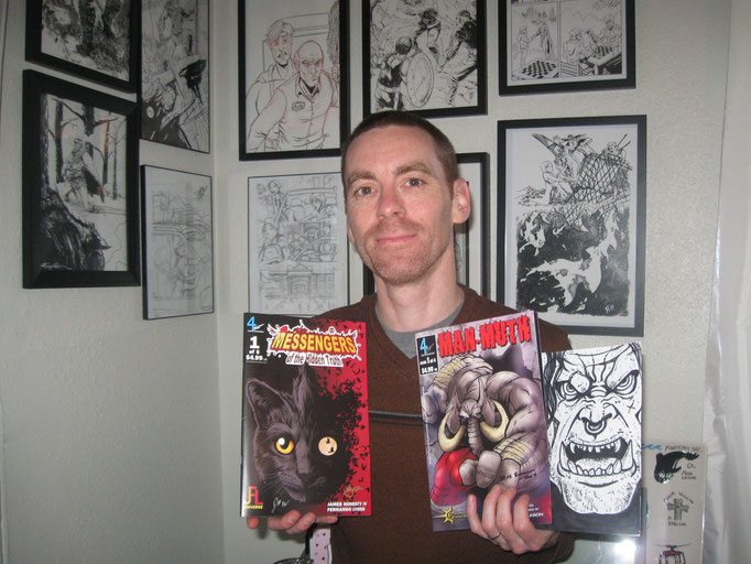 Harland Buck:  FreeSword creator and writer, Scott Eos Weldon shows support for his fellow creators!  Check out the Harland Busk series at http://www.weldonstudio.com/comicshop/.