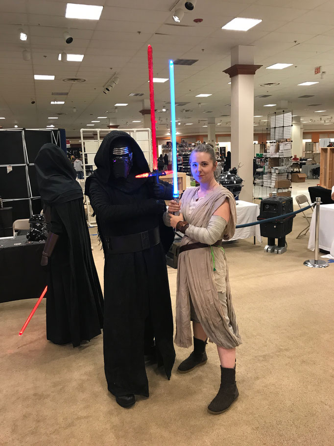 Kylo Renn and Rey!