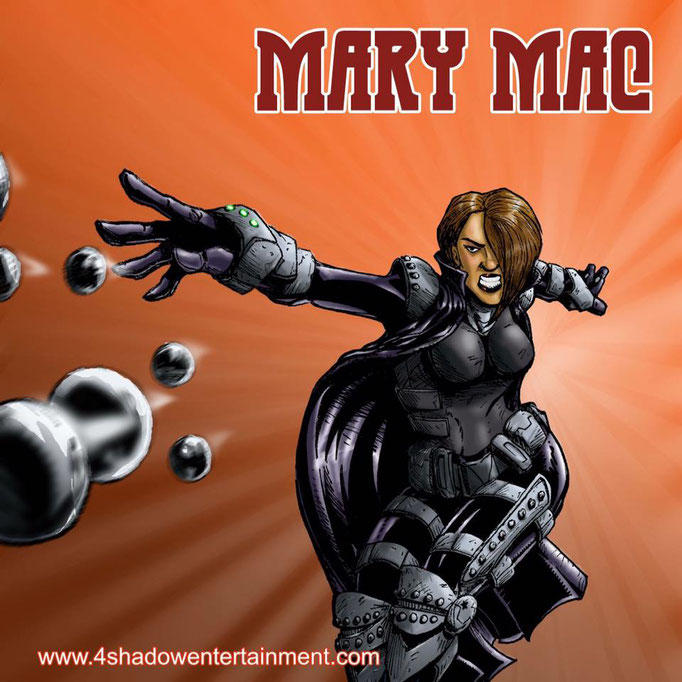 Mary Mac from the Man-Muth series by Terence Sykes.