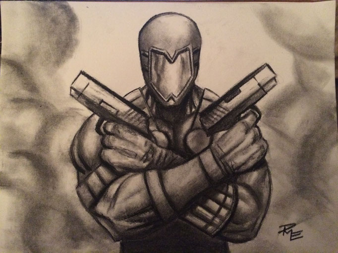 Redemption in Charcoal by D.M. Eason.