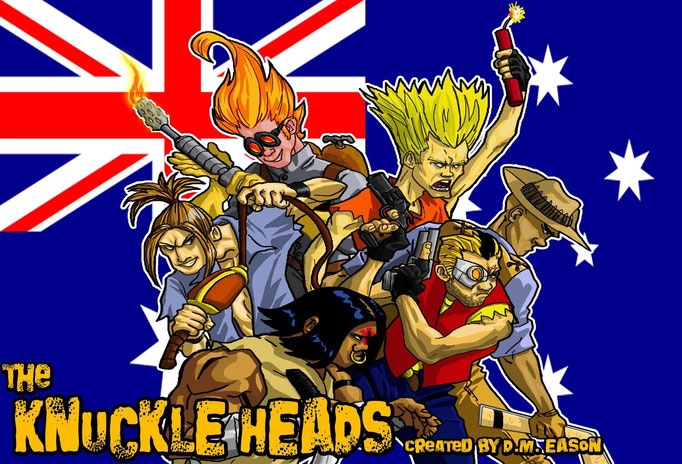 The Knuckle Heads by Terence Sykes