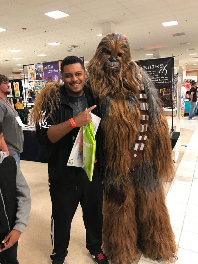 My dude Chewie!