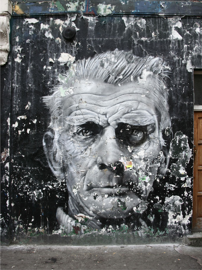 """Kirsten: Wall Painting (taken from our photobook """"London 2008"""")"""