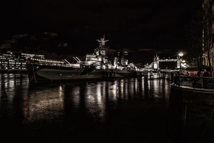 """Peter: H.M.S. Belfast (taken from our photobook """"London 2008"""")"""