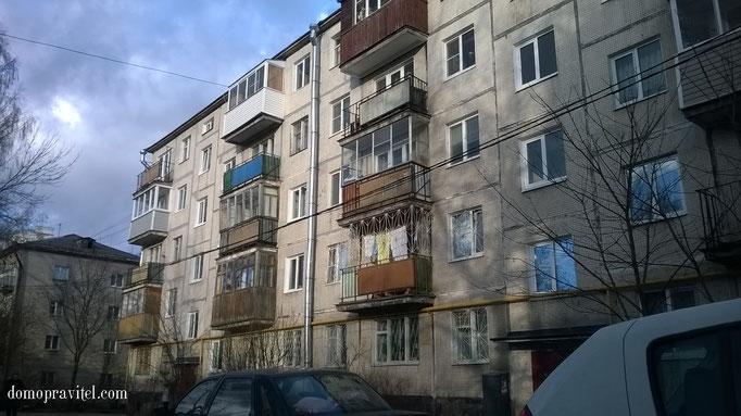 Дом по улице Радищева 18 в Гатчине