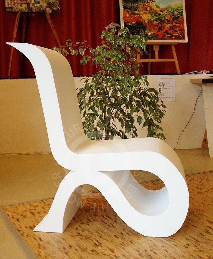 Fauteuil design en carton