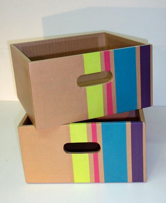 Tiroirs en carton