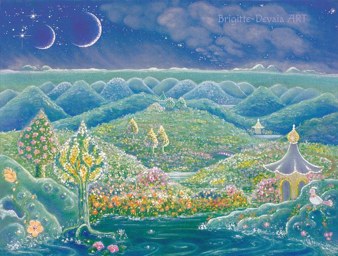 Brigitte-Devaia ART - Sternenwelt Neptun