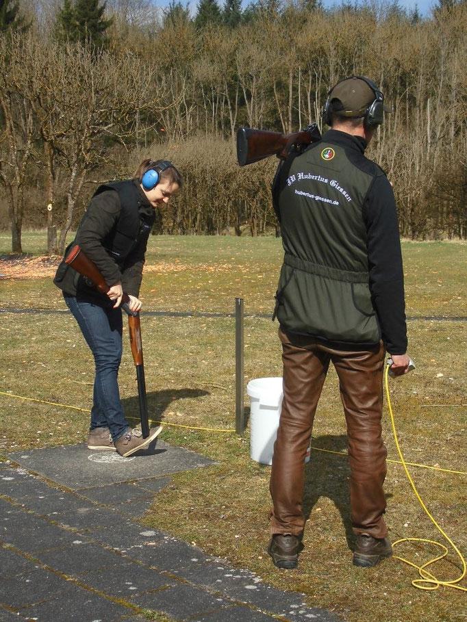 Übungsschießen Hubertus Gießen 2015