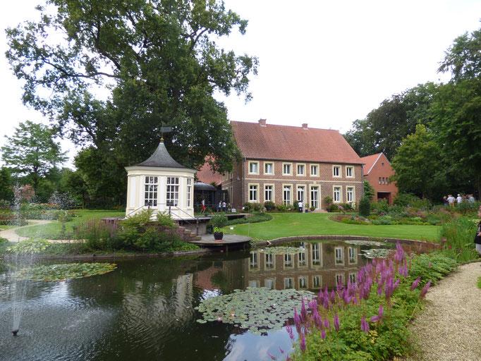 Jardin du musée du verre