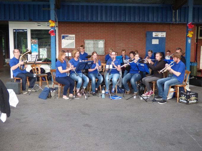 Le groupe Stadtkapelle