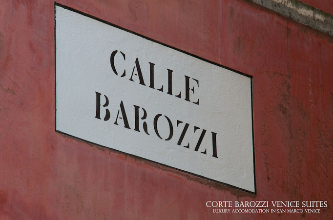 Corte Barozzi Venice, near St. Mark's Square