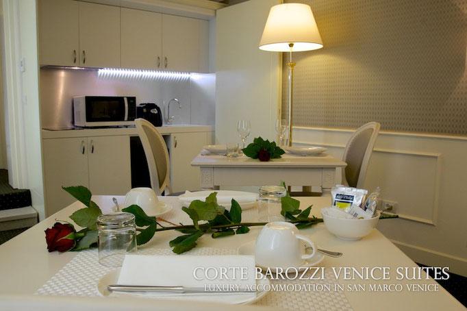 Corte Barozzi Venice: dining room