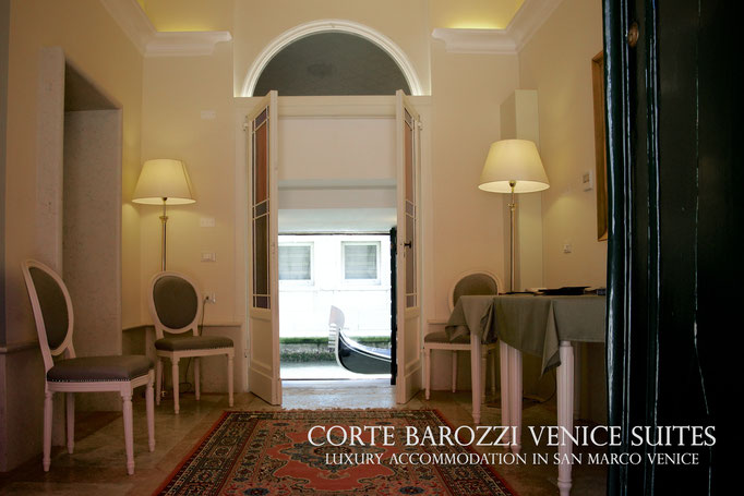 Corte Barozzi Venice: the main entrance