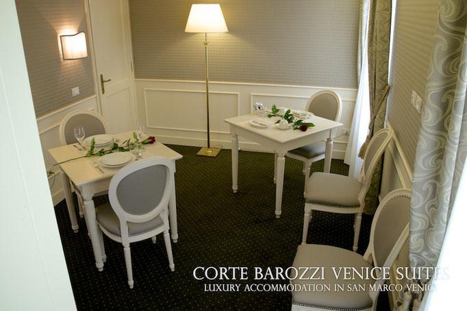 Corte Barozzi Venice: living room