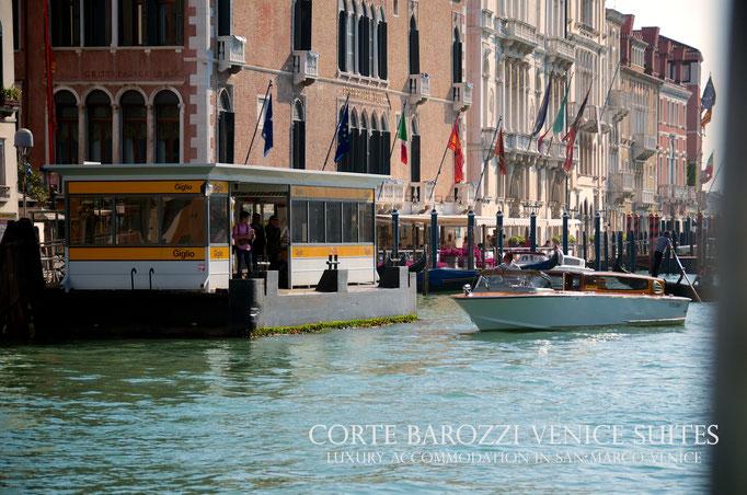 Corte Barozzi Venice: waterbus stop nearby