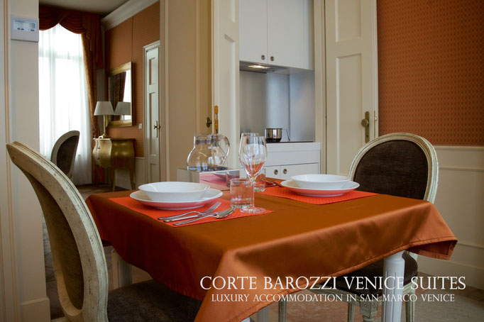 Corte Barozzi Venice: one of the apartments