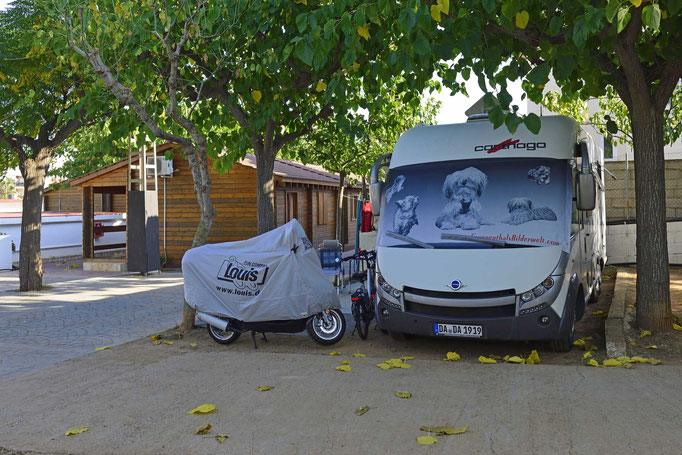 Peniscola; Campingplatz