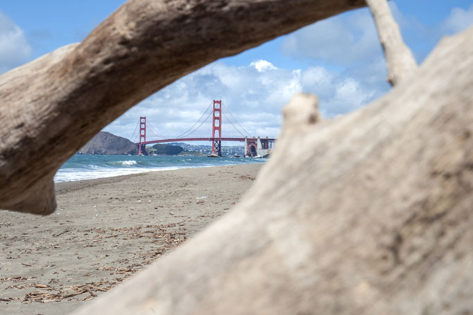 San Francisco - Coastal Trail - Baker Beach