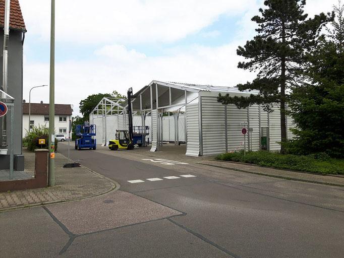 Ein Blick aus der Tannenstraße.