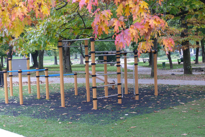 Workout palestra esterni outdoor gym fitness