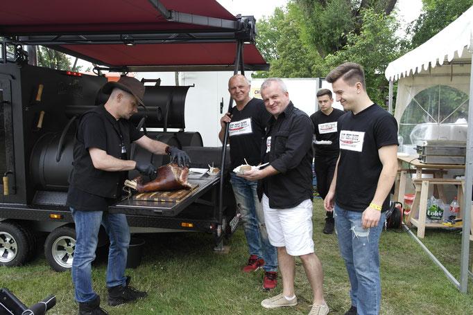 HOT CHILI BOYS American Smoker  iIeale Kombination zu zartem Fleisch: die Ofenkartoffeln von KARToGGIO®