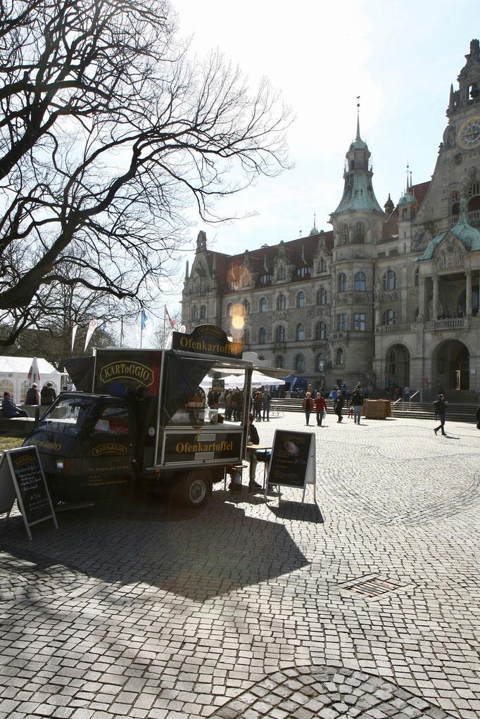 KARToGGIO® Ofenkartoffeln erstmals auf dem Trammplatz Hannover