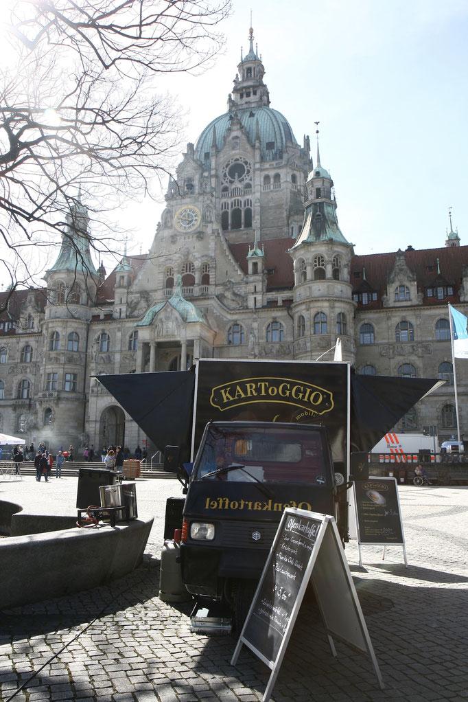 Hannover Marathon 2018 -  Ofenkartoffeln von KARToGGIO® sind schon da