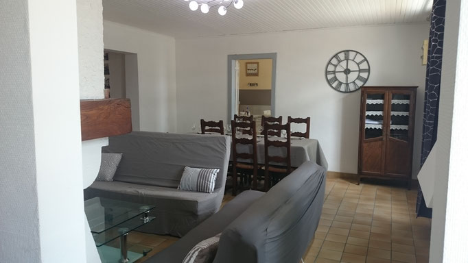 La résinière - Salon et salle à manger