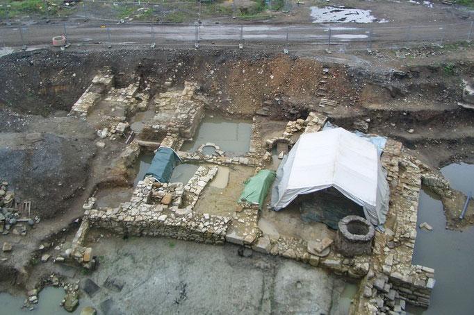 """Grabungfläche """"Hörder Burg"""" 2008"""