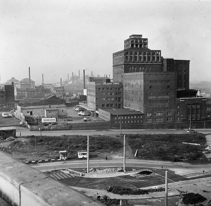 Union Brauerei Dortmund - Quelle: Denkmalbehörde (1950er Jahre)
