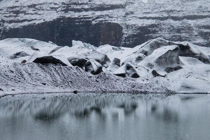 Heinabergsjòkull, Iceland, 2019