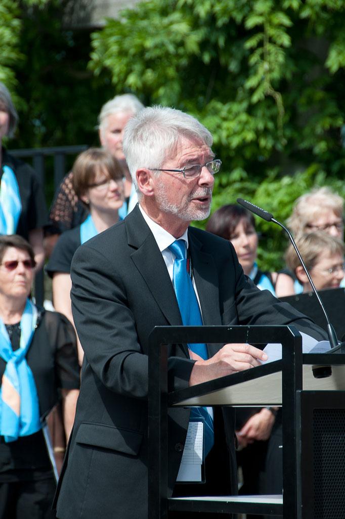 OK-Präsident Gerhard Fischer