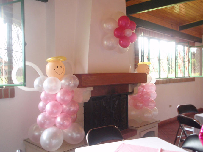 Decoración con bombas