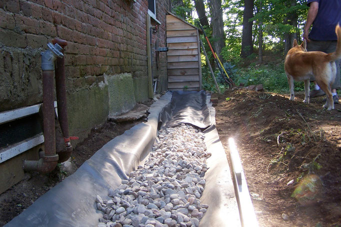 The french drain